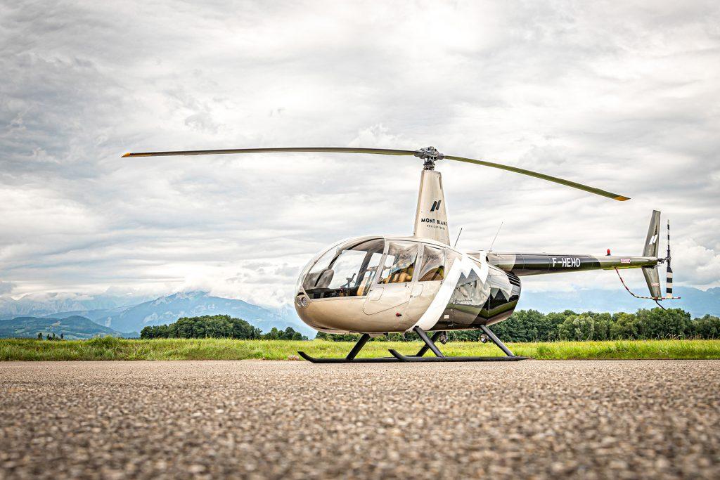 Travail aerien - Surveillance aerienne - Mont Blanc Hélicoptères Bretagne
