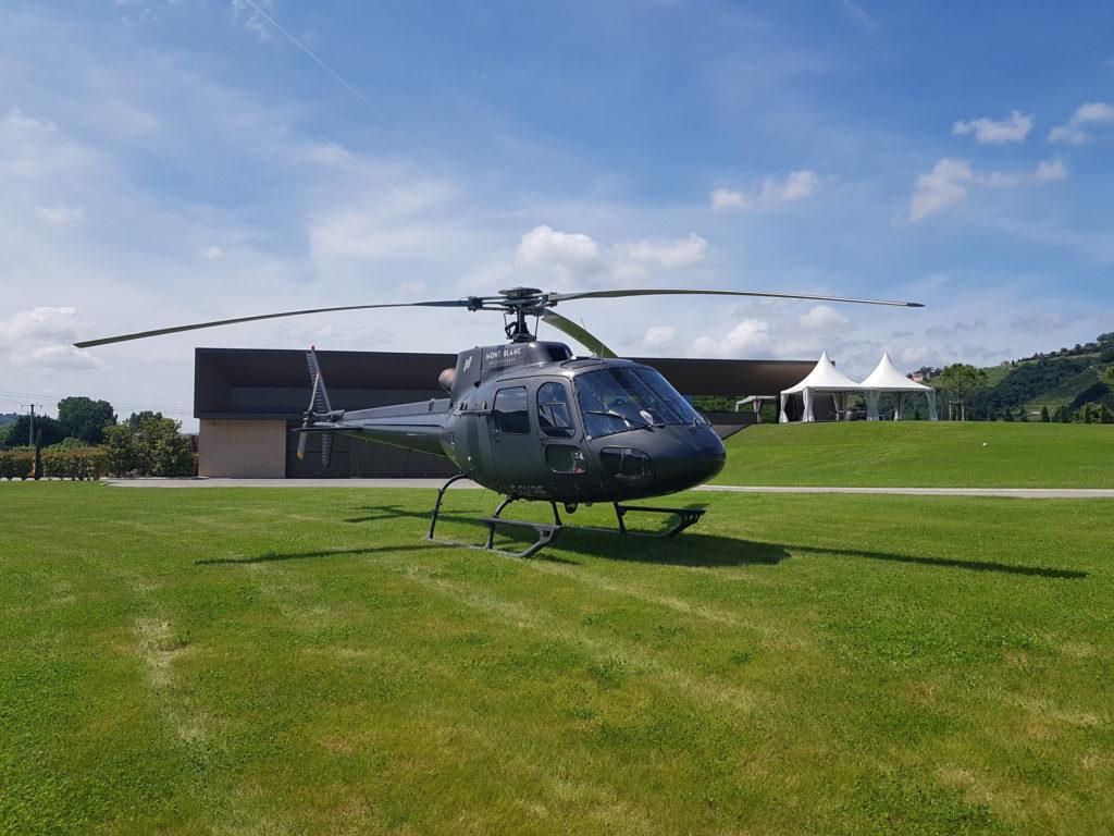 Initiation flights - AS 350 initiation - Mont Blanc Hélicoptères Bretagne